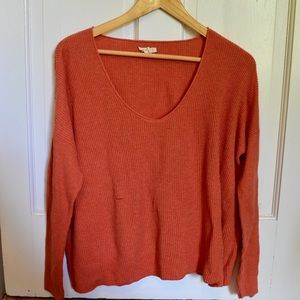 Orange Eileen Fisher Sweater